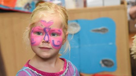 One of the children at Poppies Day Nursery in North Walsham. Picture: Danielle Booden
