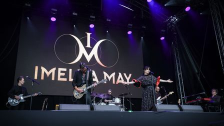 Imelda May at Heritage Live, Audley End House Photo: © Celia Bartlett
