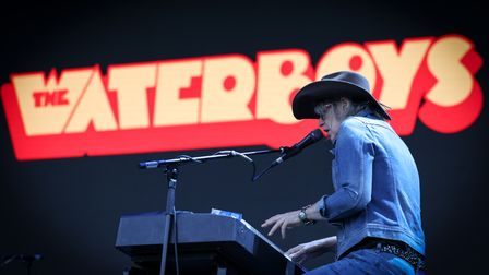 The Waterboys at Heritage Live, Audley End House Photo: © Celia Bartlett