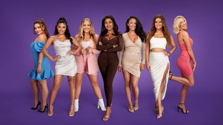 Meet the Married at First Sight UK, Season 6 cast. Pictured(L-R): Amy, Alexis, Megan, Nikita, Marilyse, Tayah and Morag.