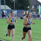 Natalie Sewell won the 1500m as Maddie Barker won the B string