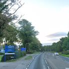 A woman fell from a moving vehicle that was travelling toward Stevenage on the A602, near Kingshott School