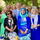 Andrew Rosindell party with guests