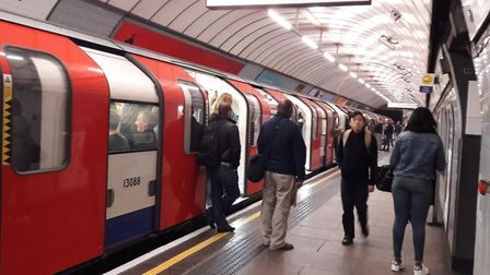 Underground lines are set to be affected this week.