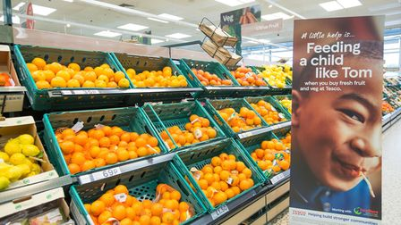 In the past three weeks, North Devon's Tesco stores have given a donation for every vegetable and piece of fruit