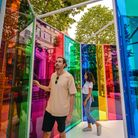 Summer Lights exhibition at Canary Wharf