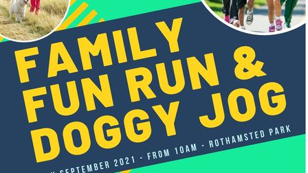 A family fun run is due to take place in Harpenden next weekend
