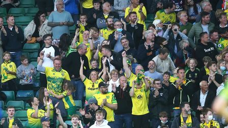 Over 10,000 Norwich City fans returned to Carrow ROad in the biggest event at the stadium since Febr
