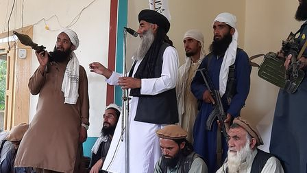 The Taliban pictured in Kabul, Afghanistan by Ashna Shinwari, who lives in Norwich