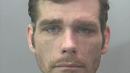 Harry Smith of no fixed address was jailed for four years for offences that included a robbery