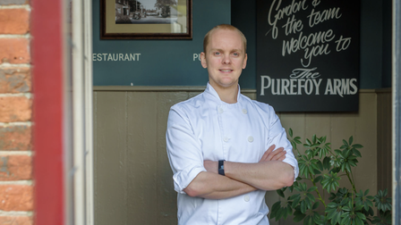 Gordon Stott is the award-winning chef behind The Purefoy Arms in Preston Candover, Hampshire