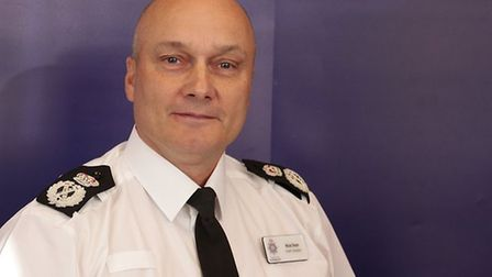 Chief Constable Nick Dean expressesthis is a great opportunity to become part of the volunteer cadets.