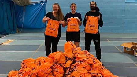 One thousand free activity packs are being distributed to Newham residents.