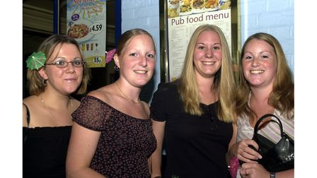 Smiling faces at The Golden Lion in Ipswich in 2002