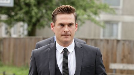 Blue singer Lee Ryan tells Peterborough Magistrates Court he has 'no money' as he gets driving ban. Pictured here in 2014.