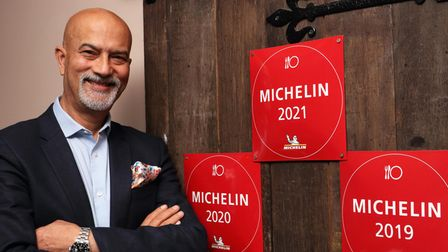Rajesh Shuri, owner of Grand Trunk Road, which has featured in the Michelin Guide for the past four years
