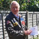 Grandad Michael Prentice, 77,will take on an exhilaratingfundraising wing walkfor midwives at Hinchingbrooke Hospital.