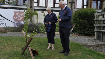 Herts and Essex Salvation Army leaders Norman and Margaret Ord are retiring after 70 years