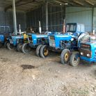 Just some of the tractors going to auction in September