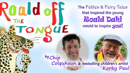 Roald OffTheTonguebyChip Colquhouncollectsfairytalesthat best-selling children's author Roald Dahl was told.