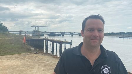 Karl Hawkins, from Bradwell, is bringing back boatbuilding to Great Yarmouth.