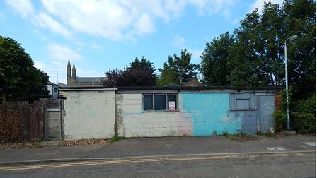 The parcel of land to the rear of 271 Southtown Road, Sefton Lane, Great Yarmouth is set to be auctioned off.