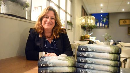 Author Elly Griffiths