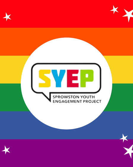 The logo for the Sprowston Youth Engagement Project [SYEP]