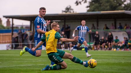 Callum Stead put Hitchin Town ahead in the first half at home to Nuneaton Borough at Top Field.