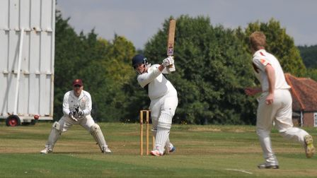 Ed Hales was in superb form with the bat for Redbourn.