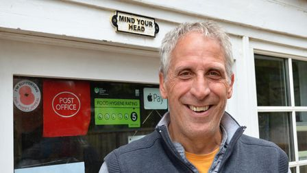 Dirck Geary, 60, from Southrepps has set up a charity to help people early onset-Alzheimer's