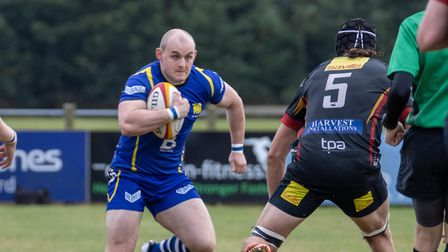 Mike Brennan bagged two tries for St Ives at Cambridge.