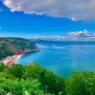 The view from Babbacombe Downs