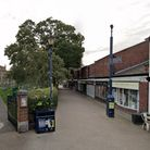 The assault happened in Churchyard Walk between the market and St Mary's Church in Hitchin