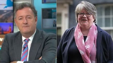 Good Morning Britain presenter Piers Morgan slammed work and pensions minister Therese Coffey over