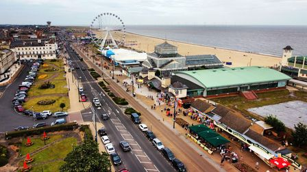 Great Yarmouth seafront.