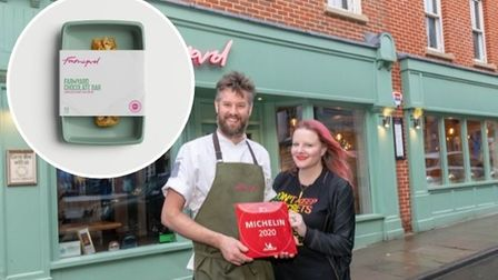 Andrew Jones and Hannah Springham launched Farmyard Frozen as a response to the coronavirus pandemic.