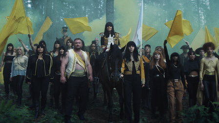Claudia Winkleman leads a revolution in the first TV advert for Cannaray CBD. shot in Winterfold Forest in Surrey.