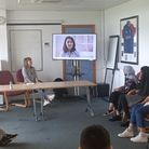 Commissioners Amy Tully and Irfan Shah met with Frenford Youth Council last week