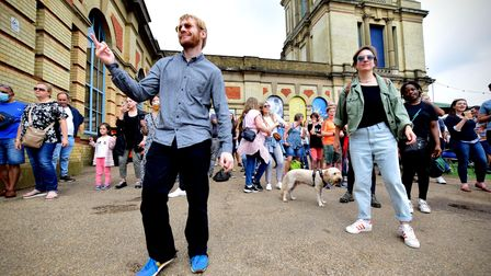 StrEATlife at Alexandra Palace saw revellers enjoy a dance or two