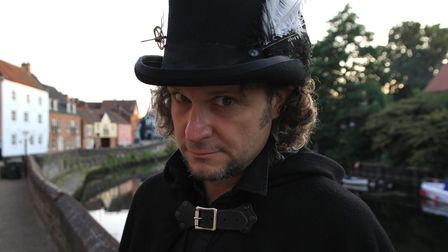 TimeShifter, the new storyteller for the Norwich Ghost Walks
