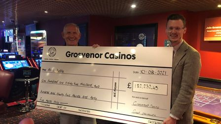 Ian Kettle wins £182,232 at Grosvenor Casino in Great Yarmouth