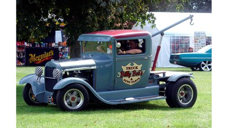One of the vehicles at theNASC Hot Rod show at the Suffolk Showground in 2004