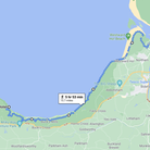 The route between Clovelly Lifeboat Station and Appledore Lifeboat Station