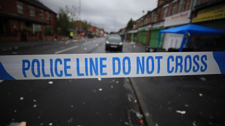 Police 'Do not cross' tape. Photograph: Peter Byrne/PA.