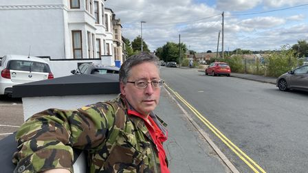 Paul Lund, who lives near Lower Clarence Road and fears a bar on the car park could exacerbate parking woes
