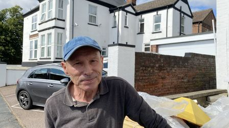 Alan Carruthers, who lives near Lower Clarence Road car park