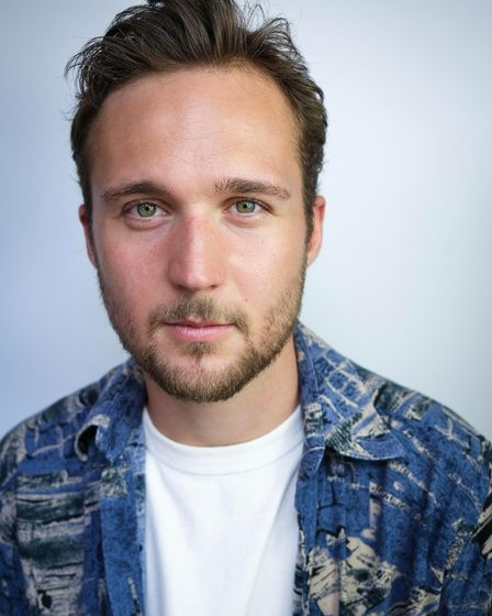 Jack Trueman plays the character of Arsenal obsessive Nick in Fever Pitch at The Hope Theatre