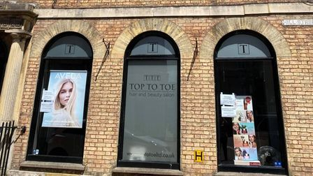 Former award-winning salon Top To Toe in Wisbech is going on the market next week.