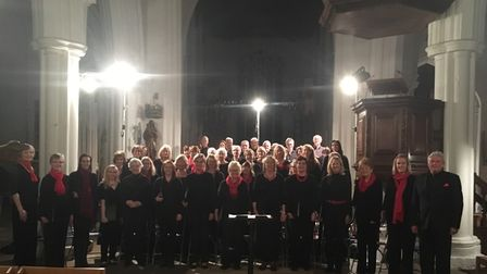 A group: Thaxted Singers, Essex